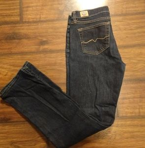 EUC Red Engine jeans